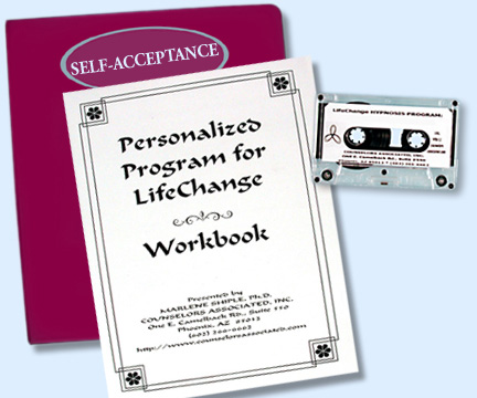 Hypnosis Coach, Dr. Marlene Shiple - Acceptance Hypnosis Workbook Program